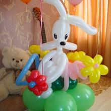 Заяц (кролик) из шаров