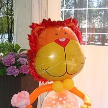 Лев из шариков