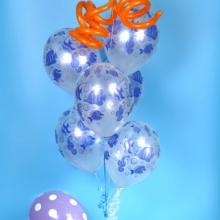 Морской букет из воздушных шаров