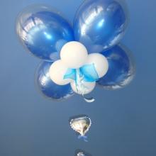 Потолочная композиция из шаров