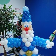 Дед мороз в синем
