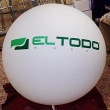 Большой шар с печатью в 2 цвета