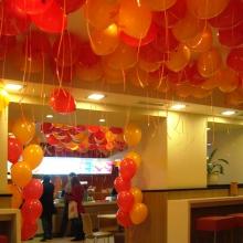 Воздушные шары в Теремке