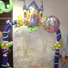 Украшение зала к детскому Дню рождения