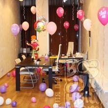 Украшение шарами ко Дню рождения