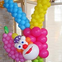 Клоун-акробат