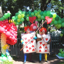 Оформление шарами тематического Дня рождения