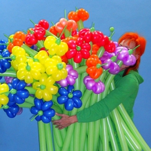 Большой букет из цветочков
